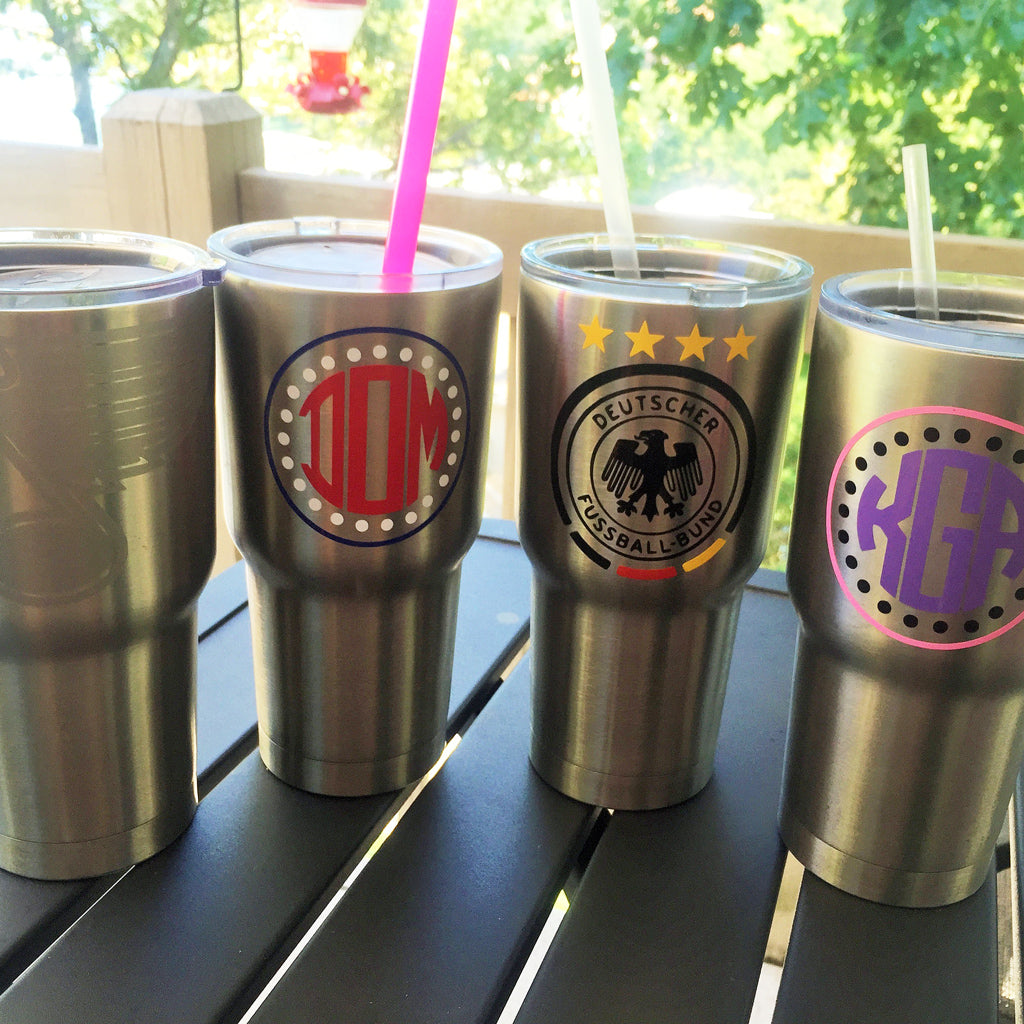 30oz. Personalized Stainless Tumblers