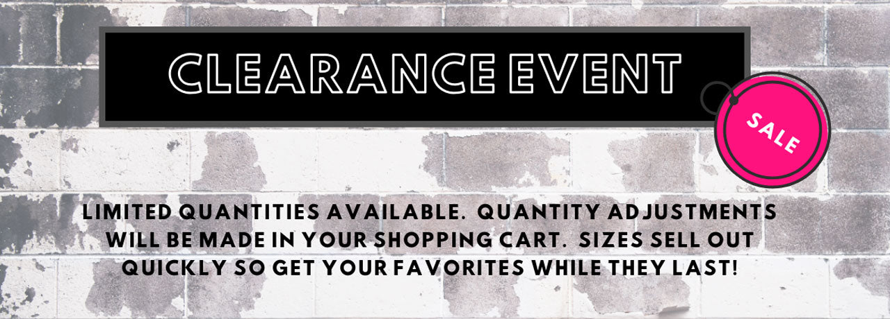 Personalized Clearance Event