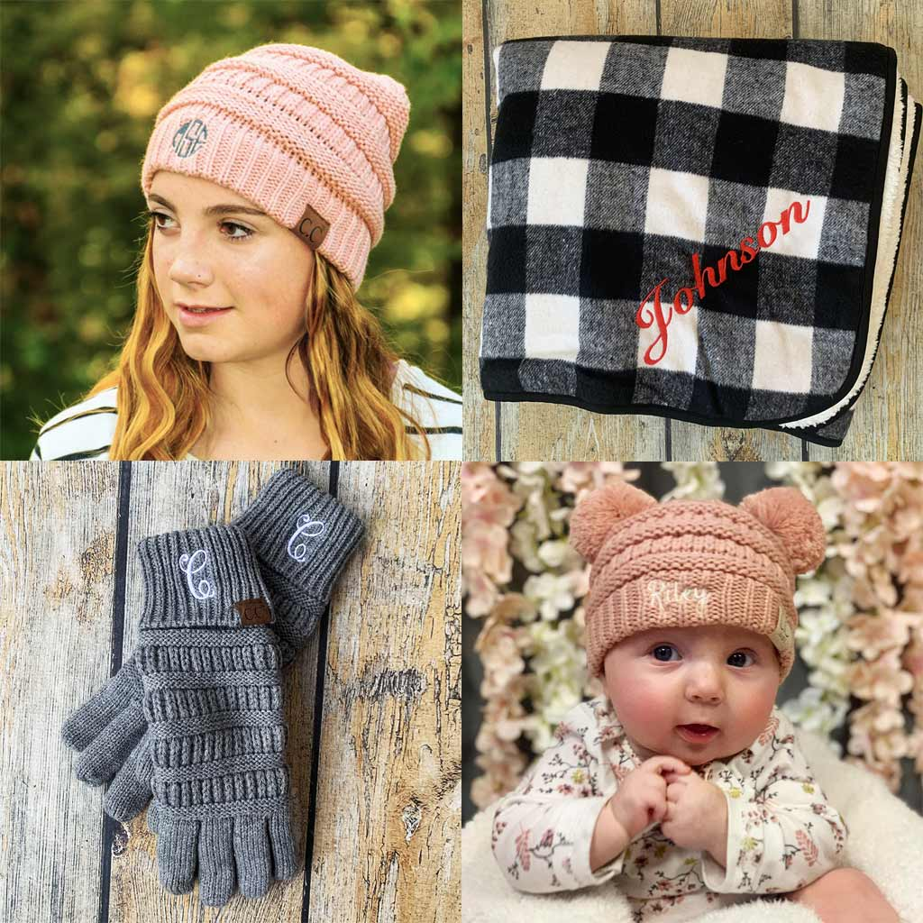 Personalized CC Beanie Items