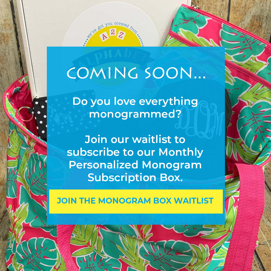 Subscription Monogram Box Waitlist