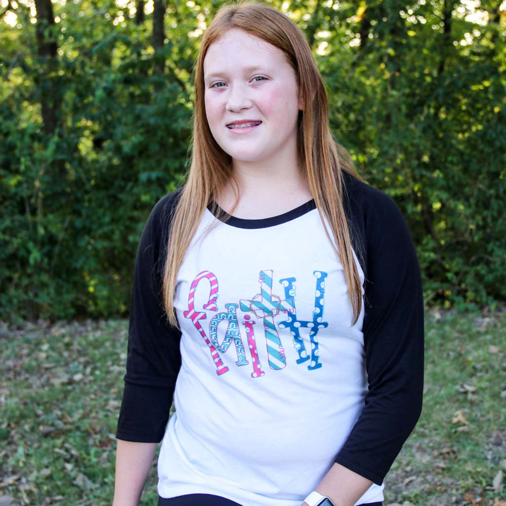 Design Your Own Personalized Raglan Tee