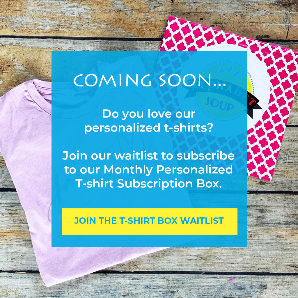 Subscription T-Shirt Box Waitlist
