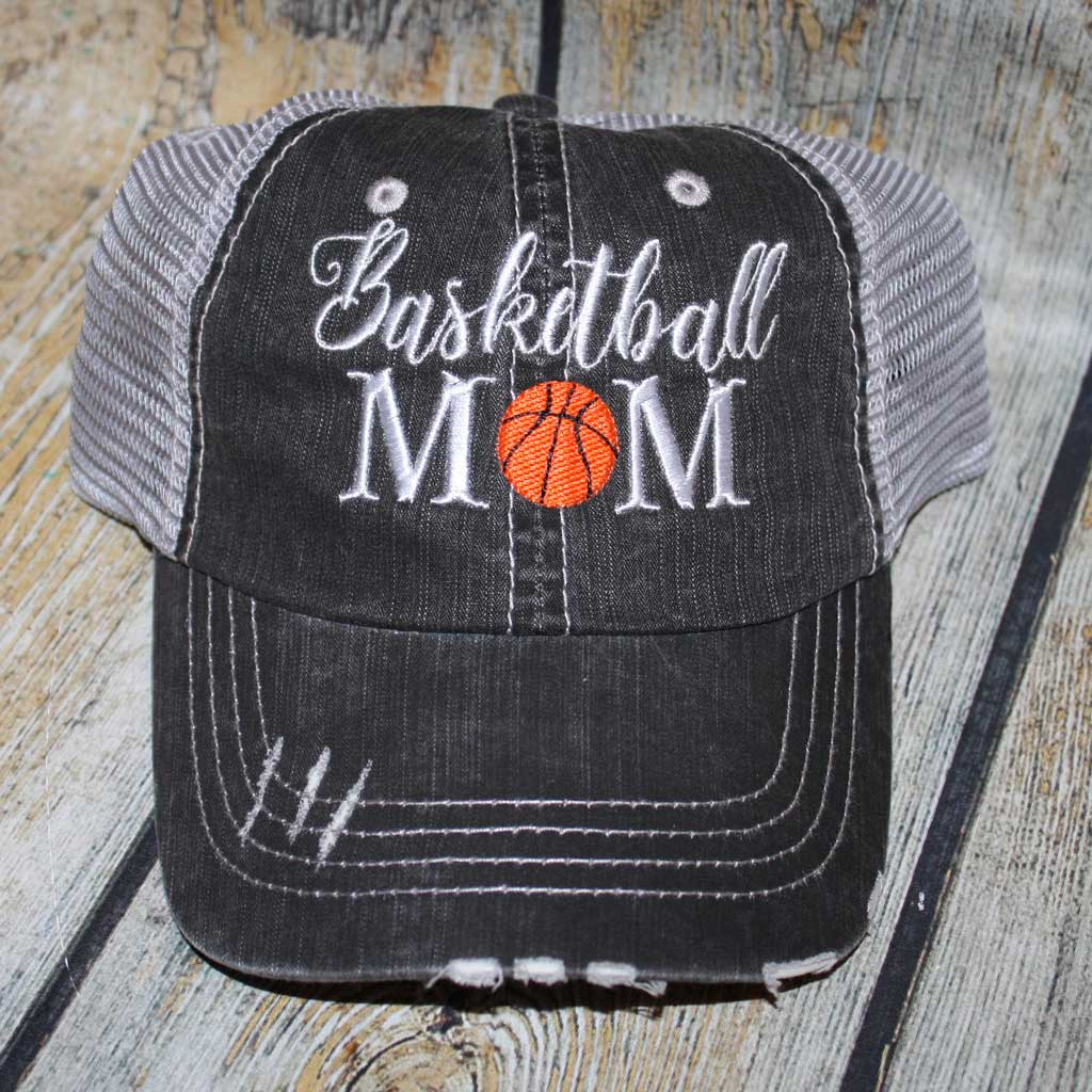 Basketball Mom Trucker Hat
