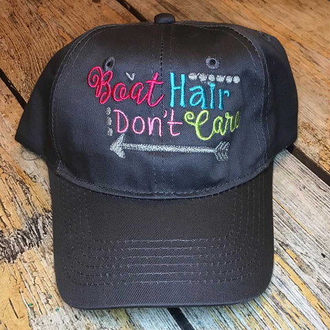 Boat Hair Don't Care Trucker Hat