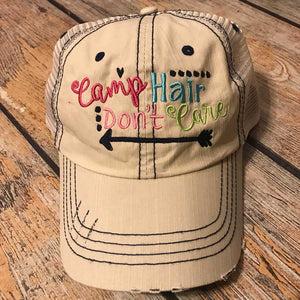 Camp Hair Don't Care Hat in Putty