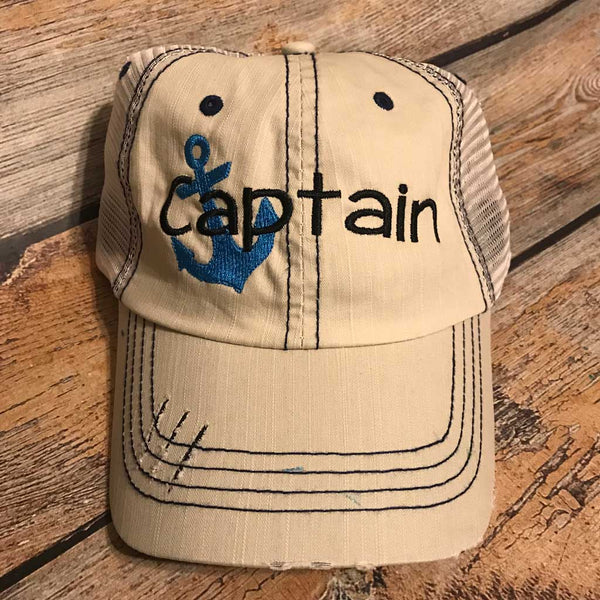 Captain Hat in Putty