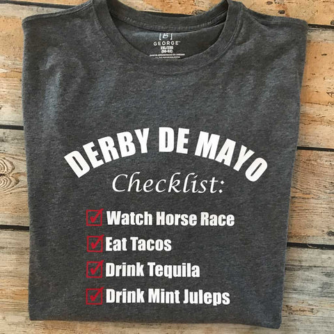 Derby de Mayo Vinyl Design Shirt