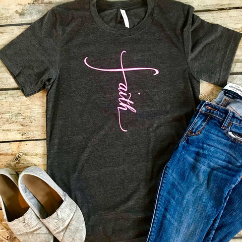 Faith Vinyl Design Shirt