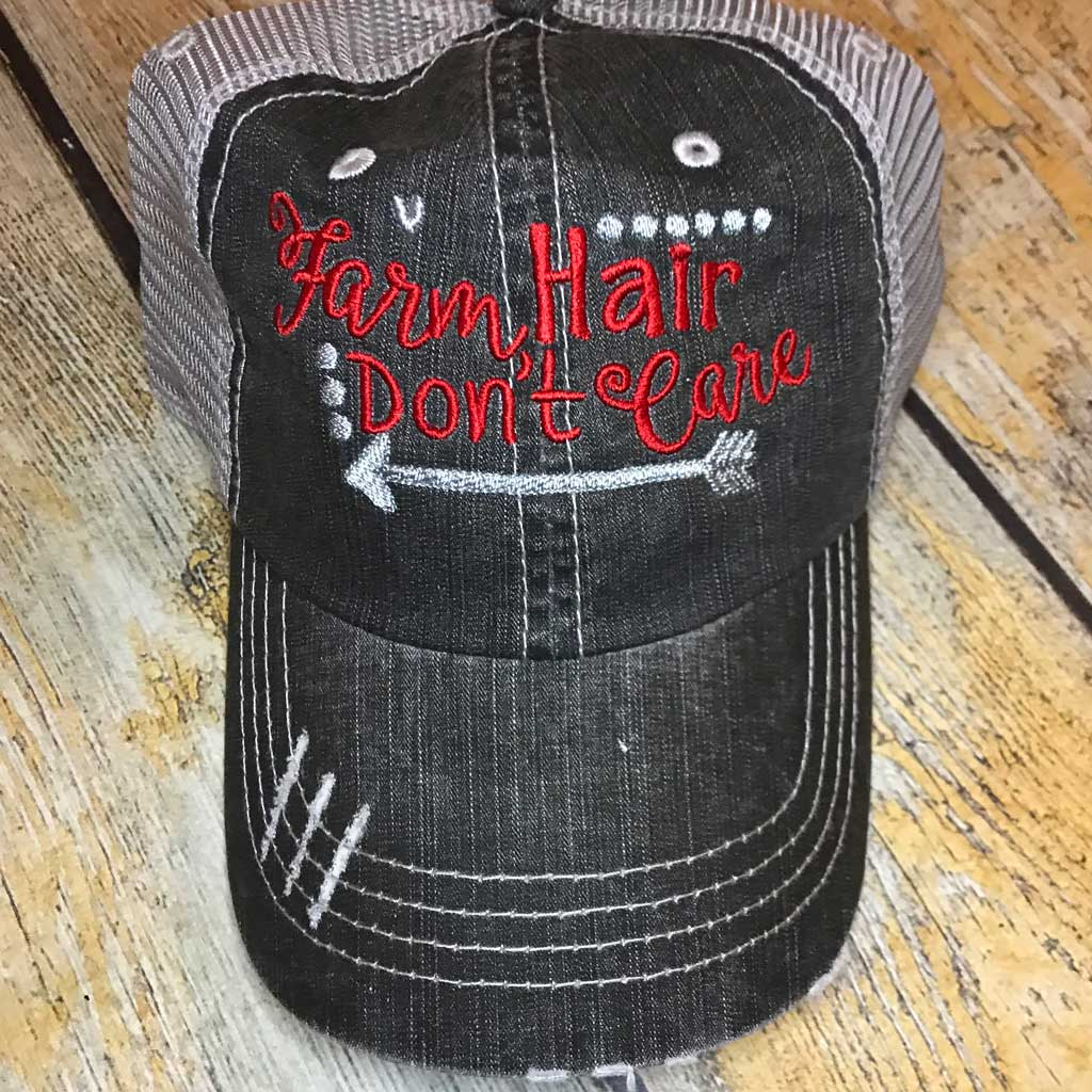 Farm Hair Don't Care Hat