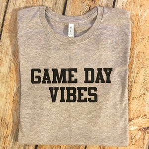 Game Day Vibes Vinyl Design Shirt