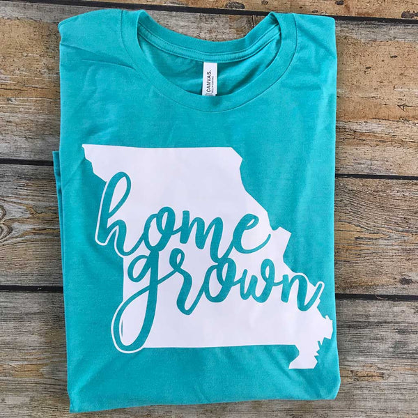 Home Grown Vinyl Design Shirt