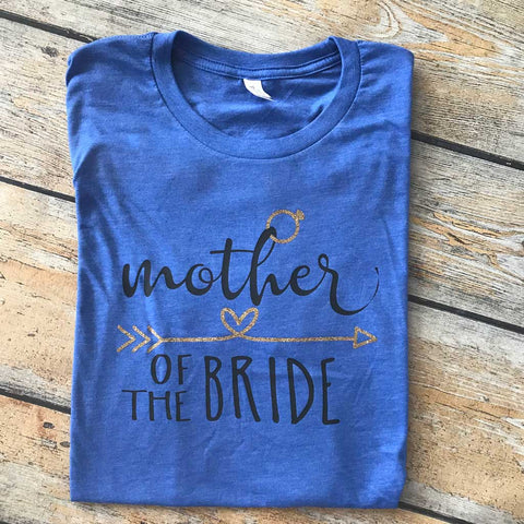 Mother of the Bride Vinyl Design Shirt