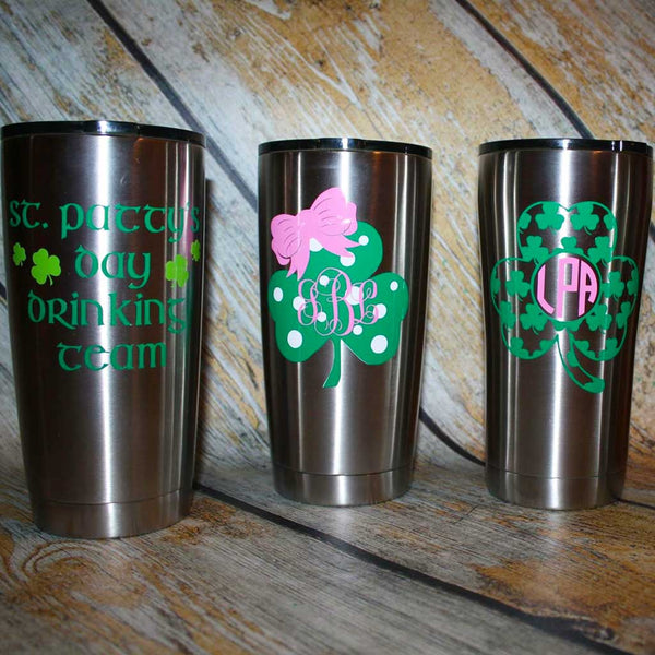 St Pat's Day Tumbler Collection
