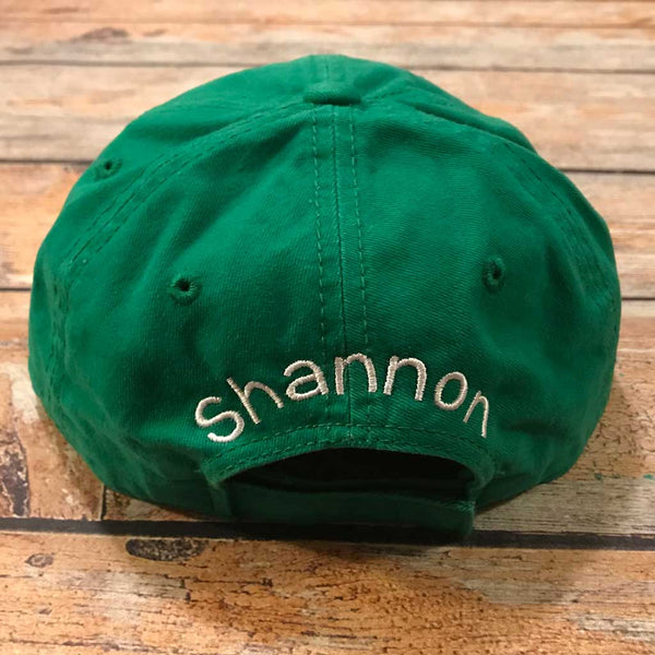 St Pat's Day Hat Name on Back
