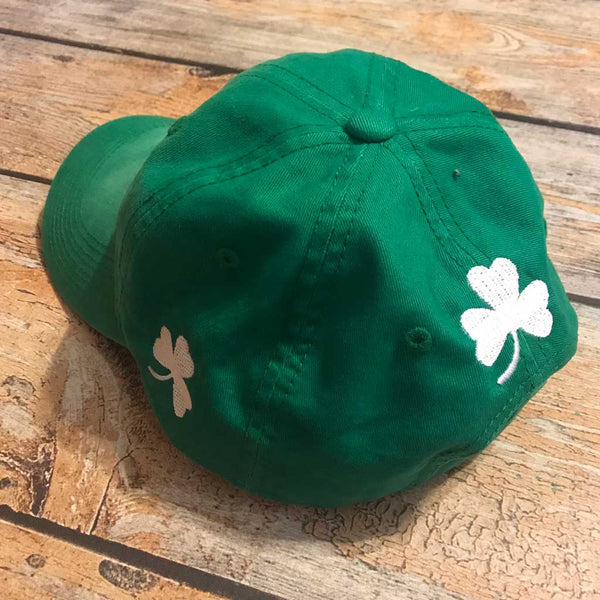 St Pat's Day Hat Side View