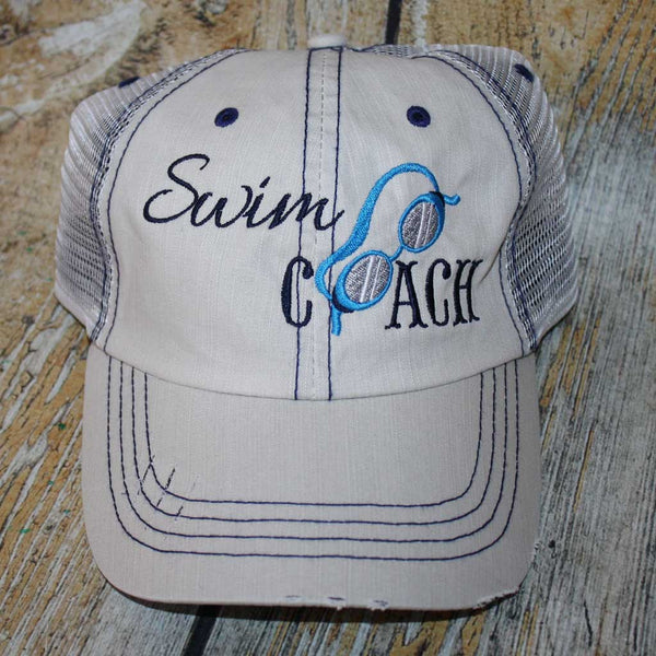 Swim Coach Hat