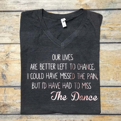 The Dance Vinyl Design Shirt