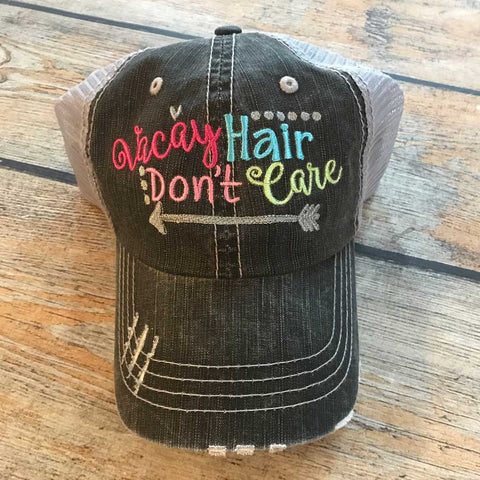 Vacay Hair Don't Care Hat