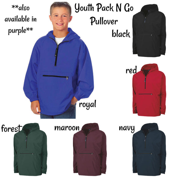 Youth Pack N Go Pullover