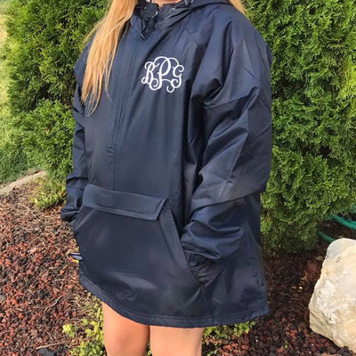 Adult Classic Lined Pullover in Navy
