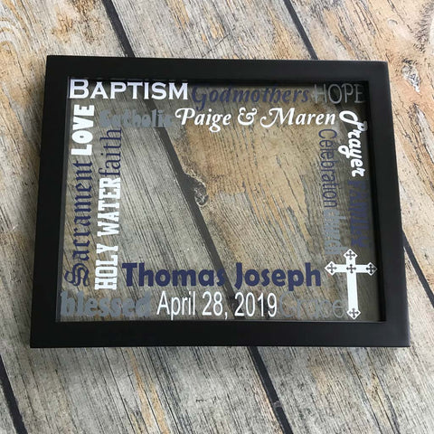 Baptism Floating Frame