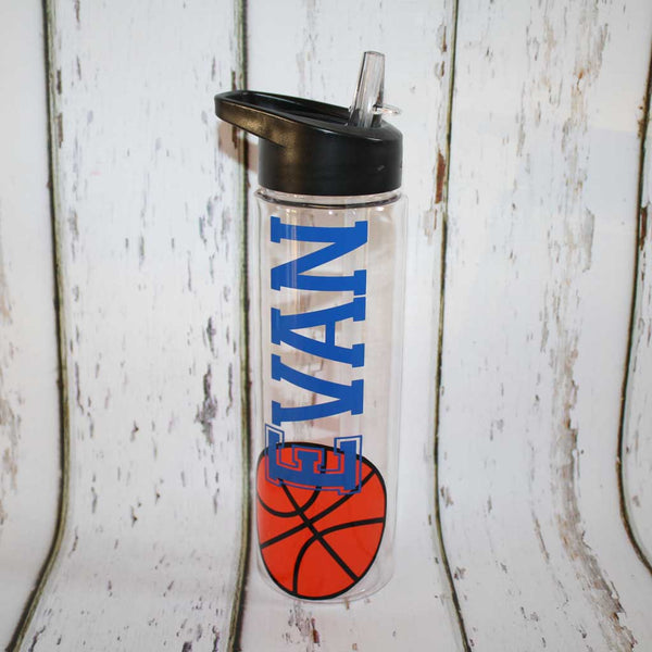 Sample Basketball Water Bottle