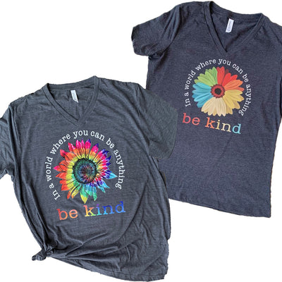 Be Kind Vinyl Design Shirt