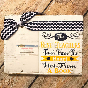 Best Teacher Frame in Yellow