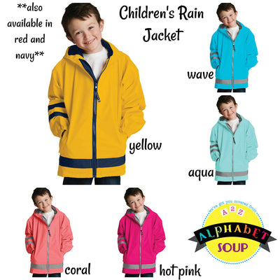 Children's New England Rain Jacket