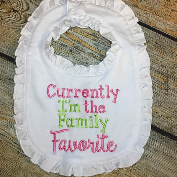 Currently The Family Favorite Baby Bib
