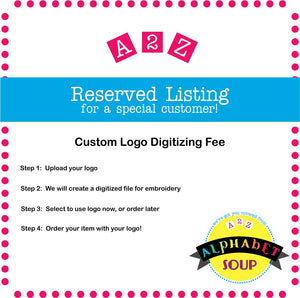 Custom Logo Digitizing Fee