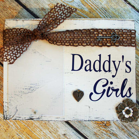 Daddy's Girls Frame