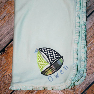 Design Your Own Applique Baby Blanket