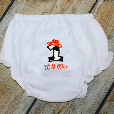 Design Your Own Applique Ruffle Bloomers
