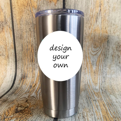 Design Your Own Stainless Tumbler