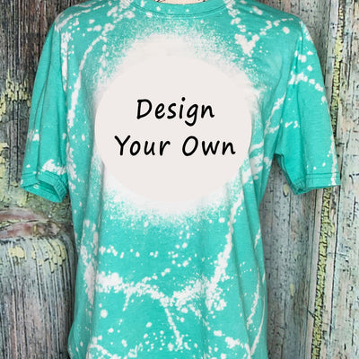 Design Your Own Bleached Tee