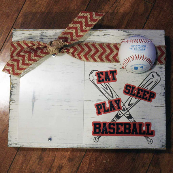 Eat, Sleep, Play Baseball Frame
