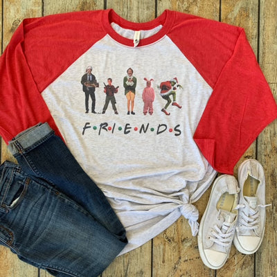 Mischievous Friends Xmas Sublimated Tee