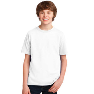 Personalized Youth Short Sleeve Tee - White