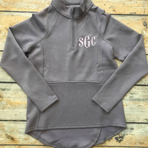 Women's Seaport Embroidered Monogram Pullover
