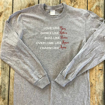 Grey's Anatomy Fan Vinyl Design Shirt