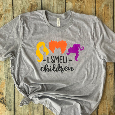 I Smell Children Halloween Vinyl Design Shirt