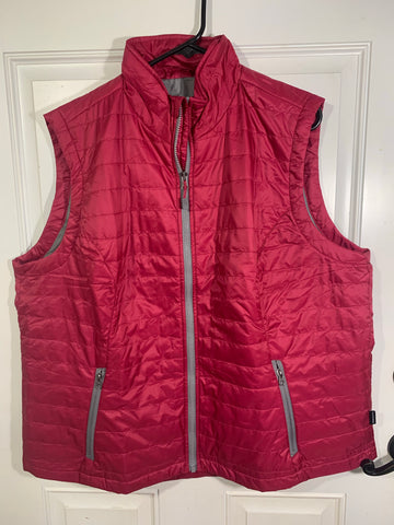 CRA quilted vest pink size 2XL