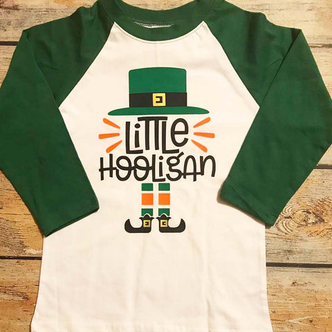 Little Hooligan Vinyl Design Shirt