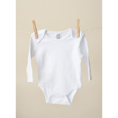 Plain Long Sleeve Bodysuit