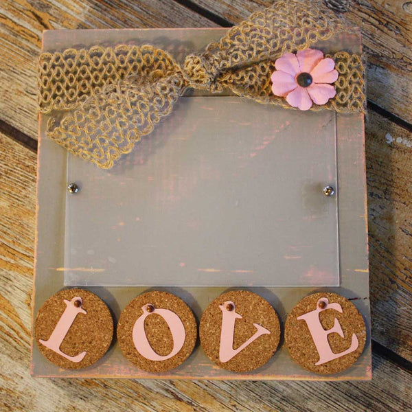 Love Frame in Pink
