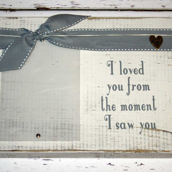 I Loved You Ultrasound Frame in Gray