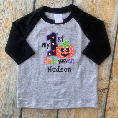 My First Halloween Birthday Tee