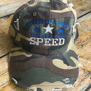 I Feel the Need for Speed Hat
