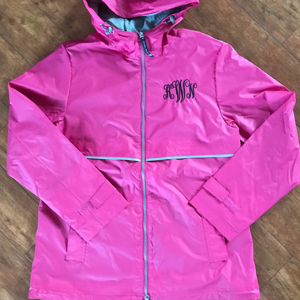 New Englander Jacket in Hot Pink